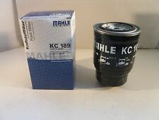Mahle Fuel Filter KC189 - Fits Nissan Diesel Models *OE QUALITY*