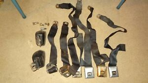 1966 66 Pontiac, Olds, Chevy, Buick seat belts. Bonneville, GTO, Grand Prix. 88.