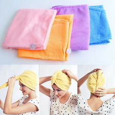 Hotsale Magic Microfiber Twist Hair Dryer Drying Towel Turban Cap Hat Head Wrap