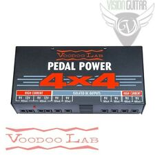 NEW! Voodoo Lab PEDAL POWER 4x4 - Audiophile Quality 9 Volt Isolated Supply