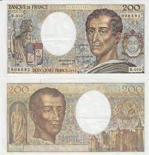 Gertbrolen  200 Francs MONTESQUIEU  Année 1982  N .010
