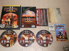 EverQuest II: Desert of Flames (PC, 2005) With Collectors Series 2 Coin 18801