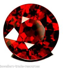 12mm ROUND NATURAL RED INDIAN GARNET GEM GEMSTONE
