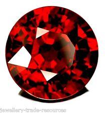 11mm ROUND NATURAL RED INDIAN GARNET GEM GEMSTONE