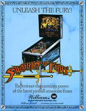 Williams swords of fury sound speech Pinball chip set l-1 , system 11