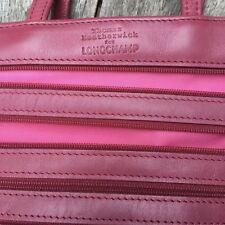 Sac rose Longchamp
