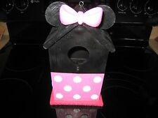 Disney Rare Minnie Mouse Bird House~New With Fast Shipping@