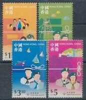 272092) Hongkong Nr.849-852** Pfadfinder