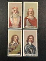 1898 Wills's Cigarettes Kings & Queens Of England Gray Back Tobacco Card Lot