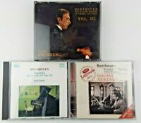 Lot of 5 Beethoven Music CDs: Violin, Piano & Operas