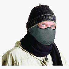 Máscara Para El Clima Frío Actividades Al Aire Libre Color Carbón Gris