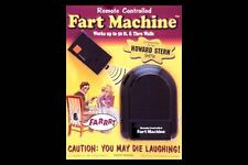 NEW T.J. Wiseman Remote Controlled Fart Machine No. 2 FREE SHIPPING
