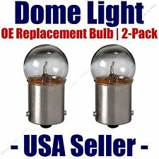 Dome Light Bulb 2-Pack OE Replacement - Fits Listed Merkur Vehicles - 89