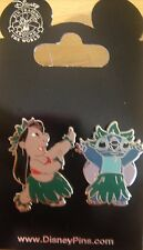 Disney Lilo and Stitch Hula Dancing 2 Pin Set - # 74232 -  New on Card