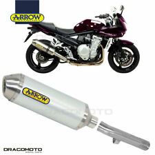 SUZUKI GSF 650 BANDIT 2009 2010 Scarico ARROW RACE-TECH ALU
