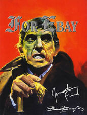 Famous Monsters #59 Barnabas_Basil Gogos Art 8x10 Print Rp Sigs Dark Shadows