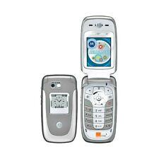 Téléphone Cellulaire Motorola V360 Gsm Gris Silver Appareil Photo Bluetooth