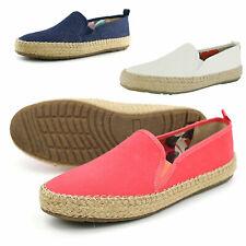 Pamir Womens Gum Canvas Slip On Shoes Espadrilles Loafer US Sizes5 6 7 8 9 10 11