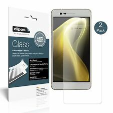 2x Sharp Z3 Protector de Pantalla Vidrio Flexible Mate Proteccion 9H dipos
