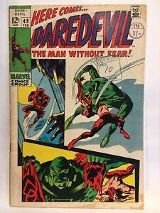 Daredevil (Vol 1) #49 VG- 1st Print Marvel Comics