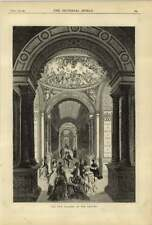 1875 New Gallery Opened Of The Louvre