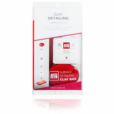 Autoglym Surface Clay Detailing Complete Kit Includes Clay Bar, Resin Polish