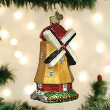OLD WORLD CHRISTMAS WINDMILL MORE THAN JUST A BUILDING GLASS XMAS ORNAMENT 20109