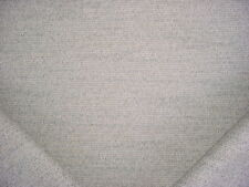6-1/2Y KRAVET SMART TWINE / SOFT WHITE TEXTURED TWEED DRAPERY UPHOLSTERY FABRIC