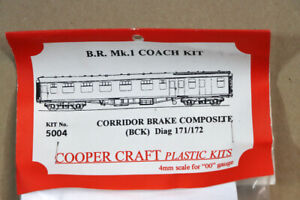 COOPER CRAFT 5004 KIT BUILT BR MK1 CORRIDOR COMPOSITE BRAKE BCK COACH KIT nz