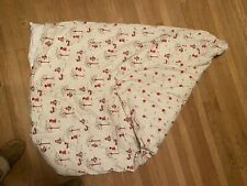 Custom Made Little Red Riding Hood And Fox Crib Bedding