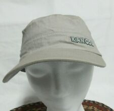 KANGOL Cotton  Khaki Twill Army Cap Flexfit Cadet Military Hat