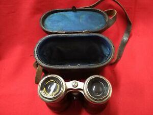 Pair Of Binoculars Old Knight Opticians Paris - REF46793