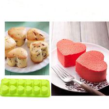Schokolade Kuchen Plätzchen Gebäck Behälter Form 12 Fächer Silikon Eiswürfelform