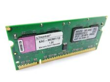 Kingston KAC-MEMF/1G 1GB PC2-5300 DDR2-667 200-Pin Laptop RAM