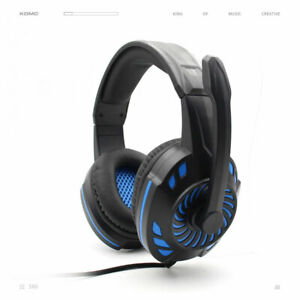Gaming Headphones compatible with Playstation 4, Microsoft Xbox One and PC