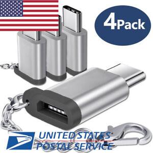 Micro USB to Type c USB USBC Keychain data dongle oneplus samsung HTC LG google