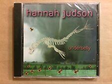 CD / HANNAH JUDSON / UNDERBELLY / NEUF SOUS CELLO