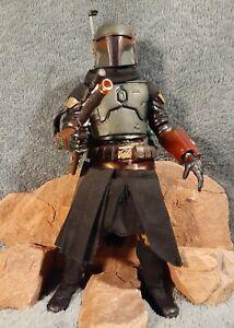 Star Wars Boba Fett New Armor Figure Mandalorian