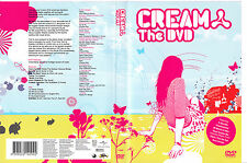 Cream and The DVD-2004-90 Minute DJ Mix-Tiesto/Paul Van Dyk-DJ Disc Jockey-DVD