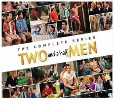 Two and a Half Men: The Complete Series - DVD Box Set [Sitcom Family Comedy] NEW
