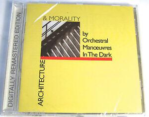 OMD - Architecture Morality CD + 7 Bonus Tracks - NEW & SEALED REMASTERED