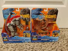 "Godzilla vs Kong 6"" 2021 Mechagodzilla & Warbat by Playmates Monsterverse FAST"