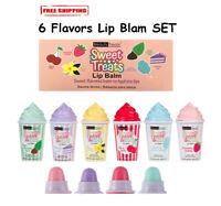 Beauty Treats Sweet Treats Fruit Scented Fruity Lip Balm 6 PCS SET