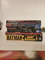 HUGE BATMAN TPB GRAPHIC NOVEL LOT LONG HALLOWEEN YEAR ONE GRANT MORRISON DC