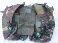 Webbing 90 Side Pouches & Yoke Dpm , Plce Daypack, Side Pockets, O. W. Ltd 1998