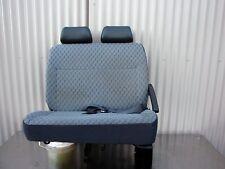 02 TOYOTA HIACE COMMUTER COMPLETE SET REAR SEATS inc/ Retractable Belts & Rails