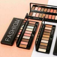 10 Farben Lidschatten Augen Make-up Lidschatten Make-up Frauen Palette Kosm Z2Y4