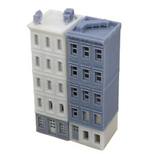 Outland Models Railroad Scenery Downtown Apartment Set White Grey N Scale 1:160