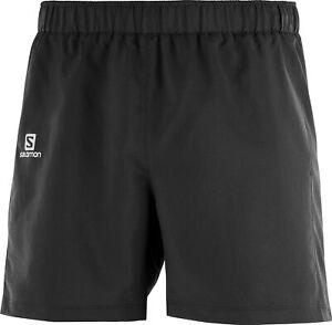 Salomon Agile 5 Inch Mens Running Shorts - Black