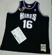 NWT Peja Stojakovic Sacramento Kings Mitchell & Ness Swingman Jersey Men 3XL